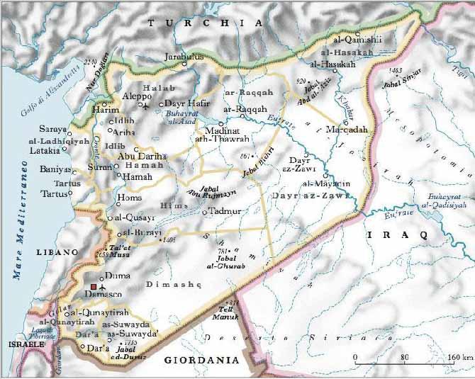 Cartina Africa E Siria.Nuove Aggressioni Imperialismo